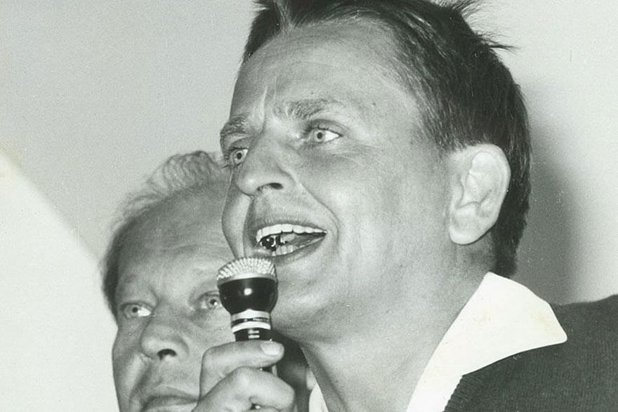 Till sidan Olof Palme