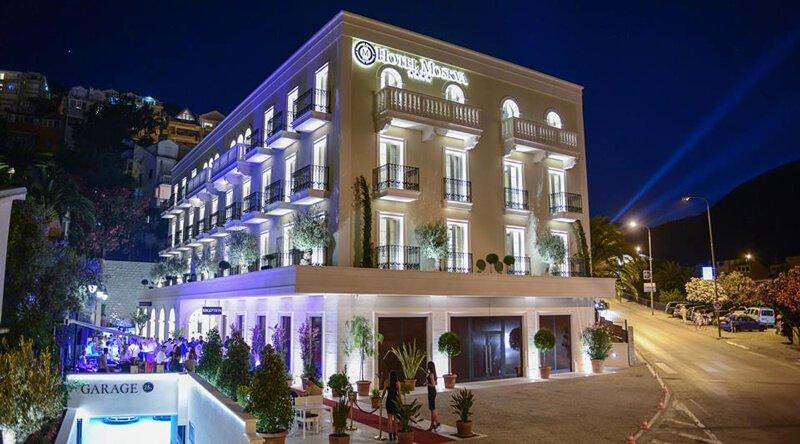 Hotel Moskva  40 Rooms  Suites Dinning  SPA  Budva
