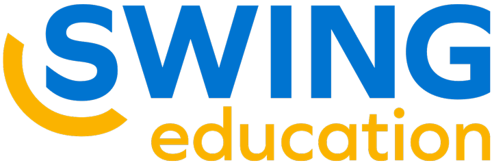 Logo for Swing Education, one of TALAS' corporate partners.
