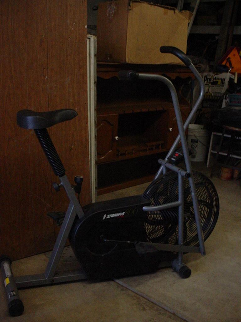 Health  Fitness Stamina Air Bike