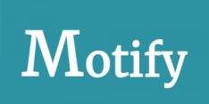 Motify horizontal logo