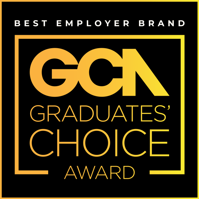 GRADUATES' CHOICE AWARD RECOGNISES TOP EMPLOYERS
