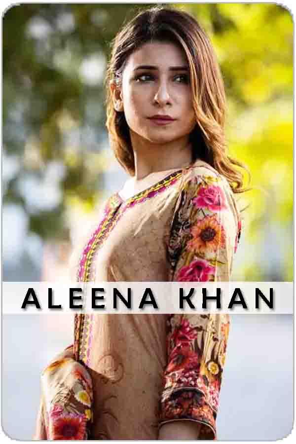 Pakistan Female Model Aleena Khan