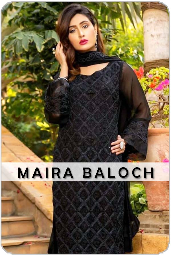 Pakistan Female Model Maira Baloch