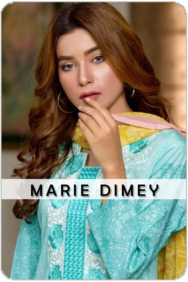 Pakistan Female Model Marie Dimey