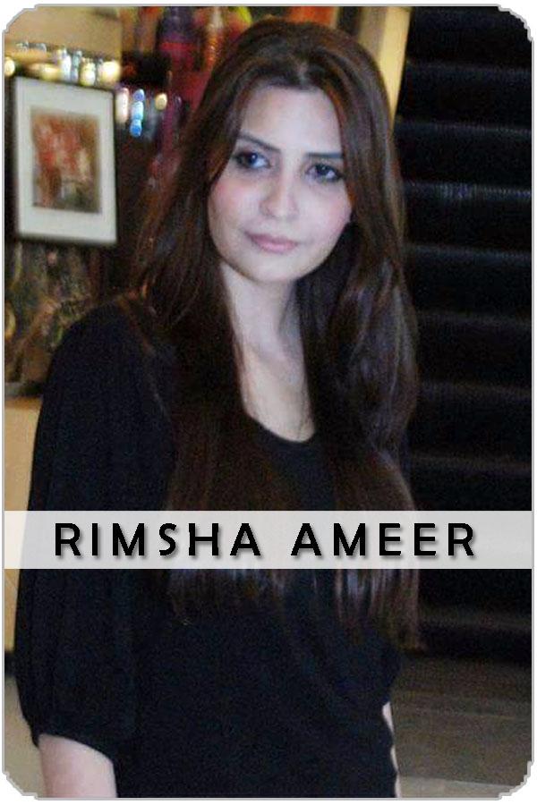 Pakistan Female Model Rimsha Ameer