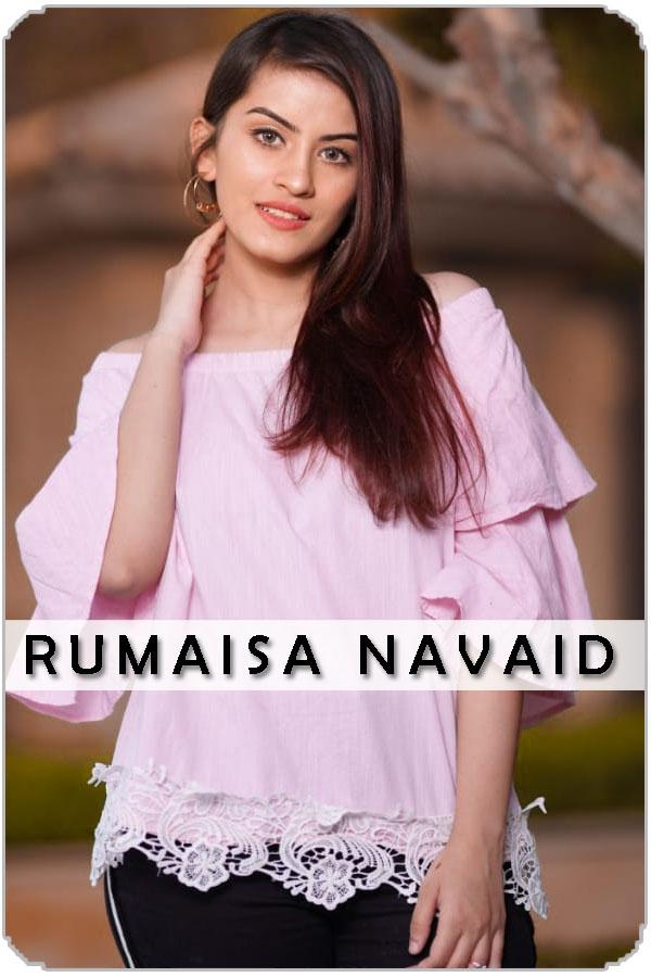 Pakistan Female Model Rumaisa Navaid