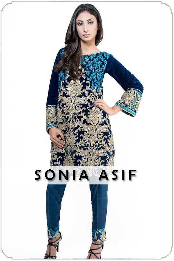 Pakistan Female Model Sonia Asif