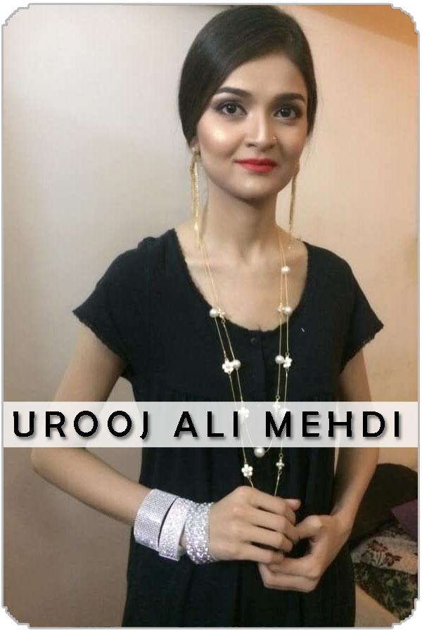 Pakistan Female Model Urooj Ali Mehdi