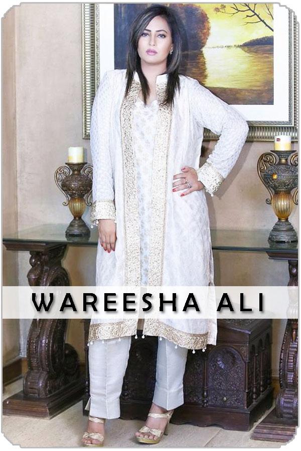 Pakistan Female Model Wareesha Ali