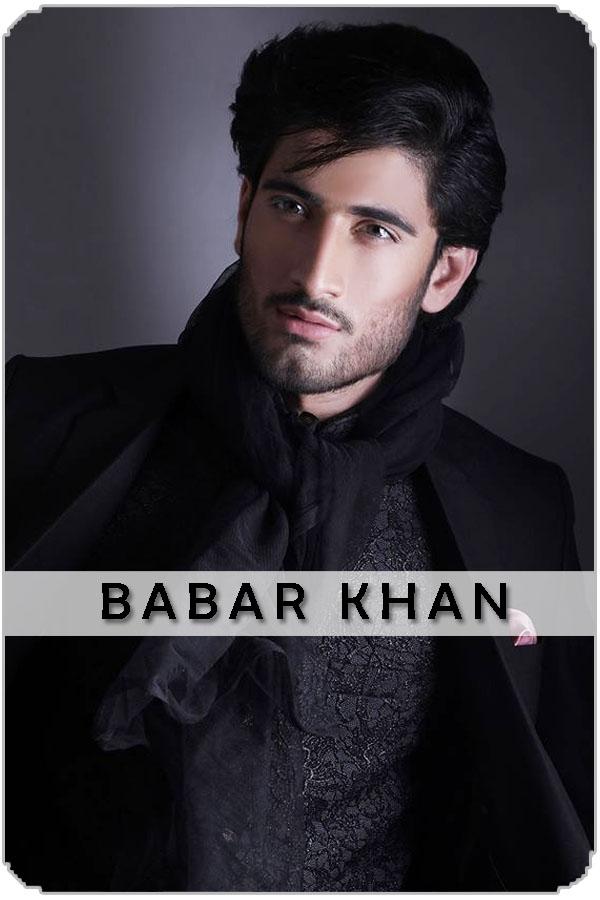 Pakistan Male Model Babar khan