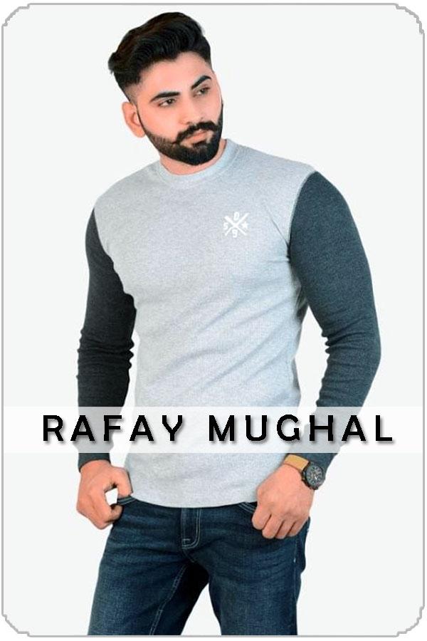 Pakistan Male Model Rafay Mughal