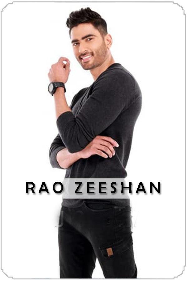 Pakistan Male Model Rao Zeeshan