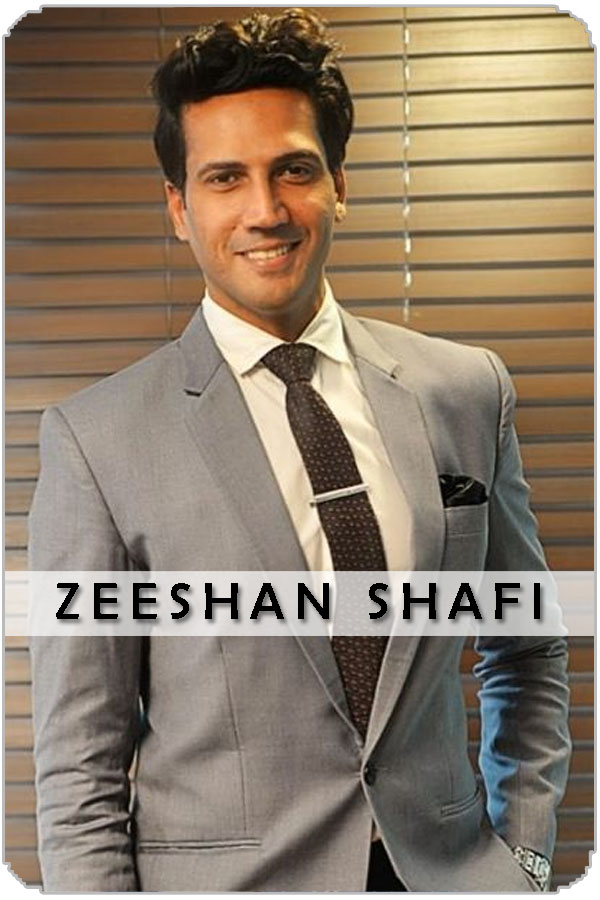 Pakistan Male Model Zeeshan Shafi