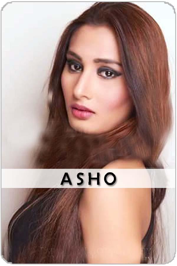 Pakistani Female Model Asho