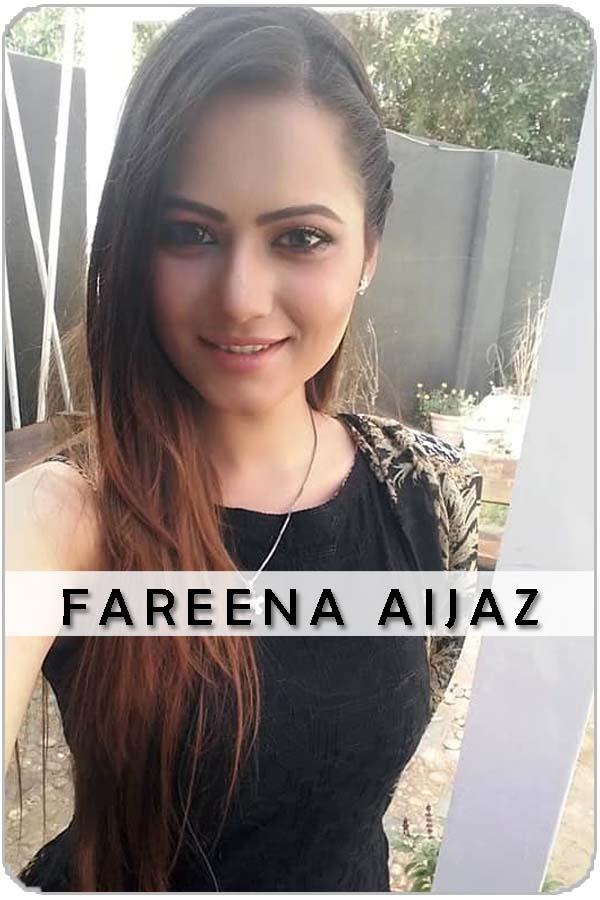 Pakistani Female Model Fareena Aijaz