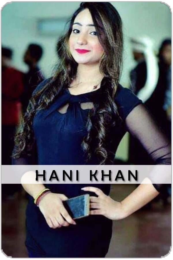 Pakistani Female Model Hani Khan