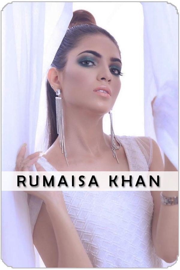 Pakistani Female Model Rumaisa Khan