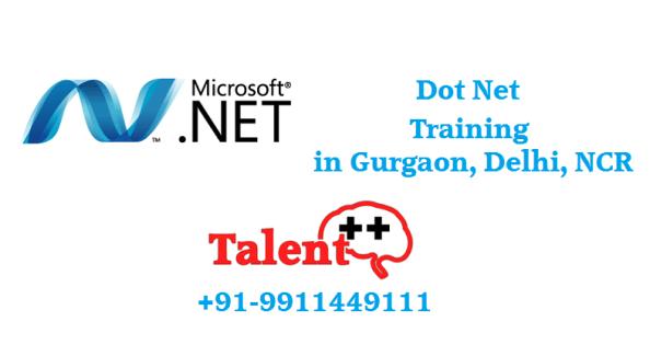 Dot Net Training Institute in Gurgaon
