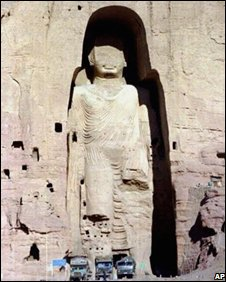 The Bamiyan Buddhas were destroyed in 2001