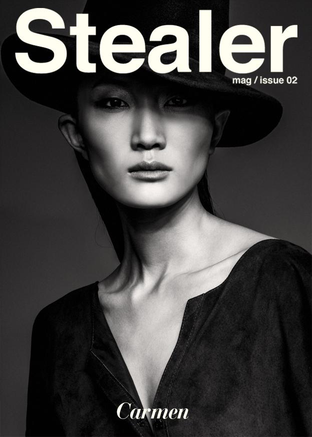 Stealer Magazine – Hair by Jose Luis Ruzafa & Make up by Agostino Faggiano