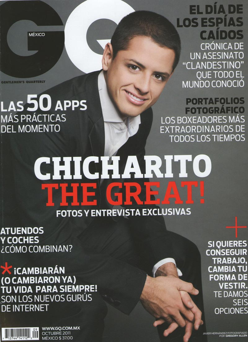 Gq Chicharito – Jonathan Mas