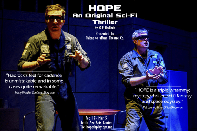 "Final Weekend for ""HOPE"""