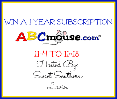 ABCmouse 1 Year Subscription Giveaway!! Ends 11/18!!