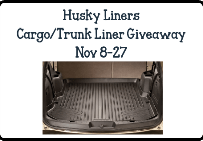 Husky Liners Cargo/Trunk Liner Giveaway! Ends 11/27