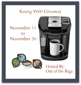 Enter to win a Keurig V600! Ends 11/30