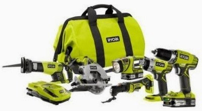 Holiday Dream Come True With Ryobi! Ryobi 18 Volt 6-Piece Lithium-Ion Tool Set Giveaway! Ends 12/2
