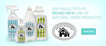 Natural Home Logic Cleaners Giveaway! Ends 1/31