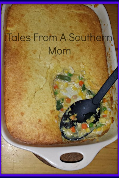 Quick Comfort Food! Chicken Pot Pie!