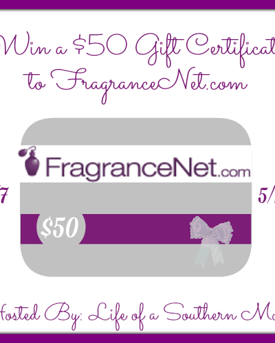 $50 Gift Certificate to FragranceNet.com {ends 05/21}