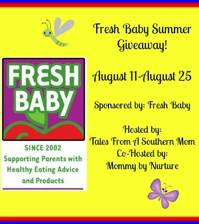 Fresh Baby Review and Healthy Summer Prize Pack! 08/25