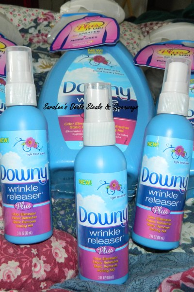 Downy Wrinkle Releaser Giveaway 08/24