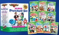 Rock 'N Learn 10-DVD Preschool Pack SPECIAL PRICED SET!