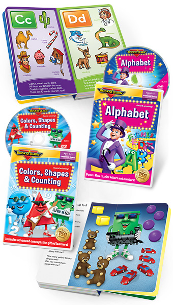 Rock N Learn Early Childhood Collection: Review/Giveaway 04/20