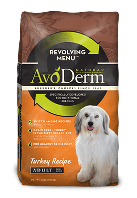 Trying a Revolving Diet with your dog with #AvoDermNatural
