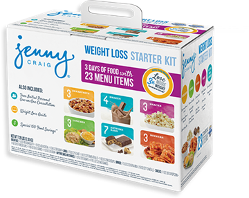 Jenny Craig Starter Kit makes it easy to lose now!