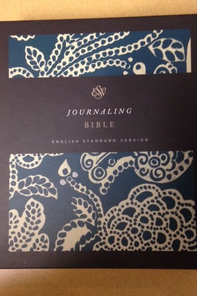 ESV Journaling Bible Review and Giveaway!  11/21
