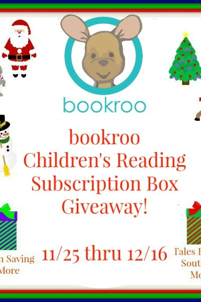 bookroo Children's Book Subscription Box Giveaway! 12/16