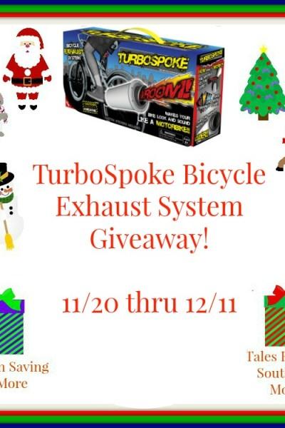 Turbospoke Bicycle Exhaust System Giveaway! 12/11
