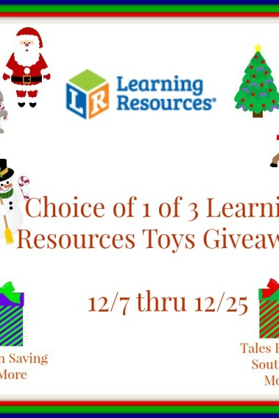 Learning Resources Toy Giveaway 12/25