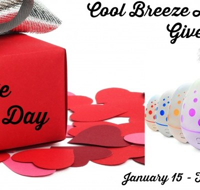 Cool Breeze Aroma Diffuser Giveaway! 02/14