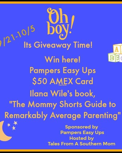 $50 Amex Pampers Potty Training Giveaway!