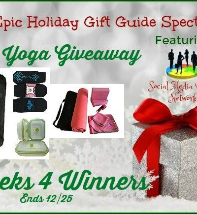Clever Yoga Giveaway Ends 12/25 – 4 Winners