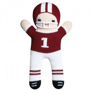 zubels-100-percent-cotton-hand-knit-maroon-white-football-player-baby-toy-300x300