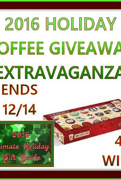 Extravaganza TRC Premium Coffee Gift Set Giveaway Ends 12/14 – 4 Winners