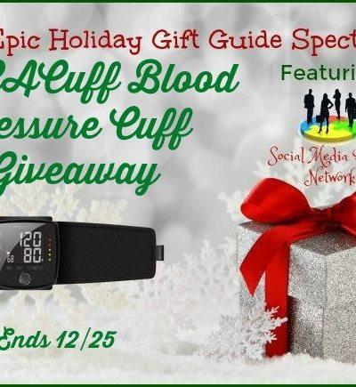 MOCACuff Blood Pressure Cuff Giveaway Ends 12/25